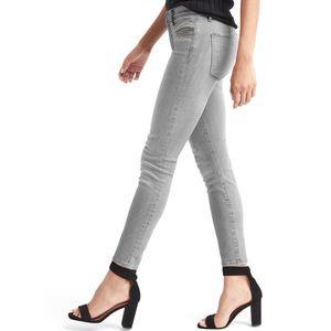 GAP True Skinny Zip Pocket Ankle Jeans